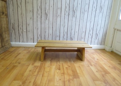 Oak & Walnut Coffee Table
