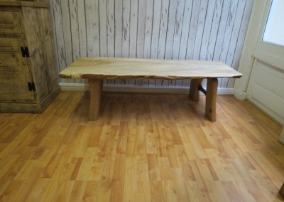 Ash, Oak & Walnut Table